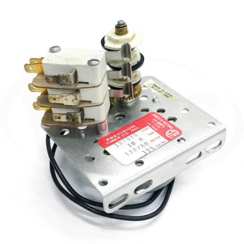 Precision Timer Company 107040 Sequential Timer, 120V 60Hz, 10H