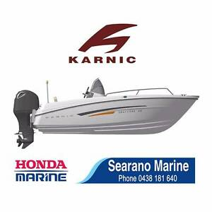 New Karnic 4800mm centre console boat with 60HP Honda. Drive Away Malaga Swan Area Preview