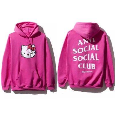 f5e7f83e3c9c ASSC Anti Social Social Club x Hello Kitty Pink Hoodie Size XS S M L XL XXL