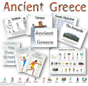 KS2 ANCIENT GREECE DISPLAY  Posters Heading Wordmat - Primary Teaching Resources