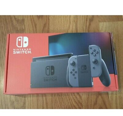 Nintendo Switch HAC-001(-01) 32GB Console with Gray Joy‑Con, Newest Model.