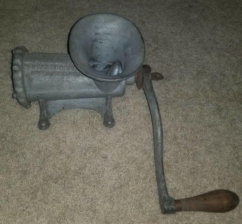 Vintage Cast Iron Enterprise No 22 Meat Grinder Chopper Antique