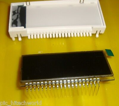 7segment Lcd 4 Digit 3x Multiplex With Plastic Carrier
