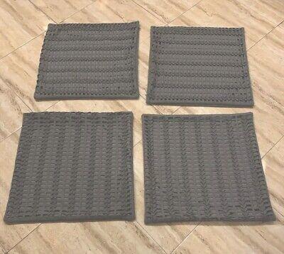 Set Of 4 Bernhardt Custom Wool Blend Euro Shams -