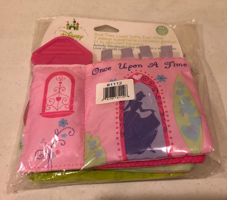 Disney Baby Princess Pink Soft Book Kids Preferred Teether B