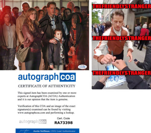 "JOSH DALLAS signed Autographed ""MANIFEST"" 8X10 PHOTO a PROOF - SEXY Ben ACOA COA"