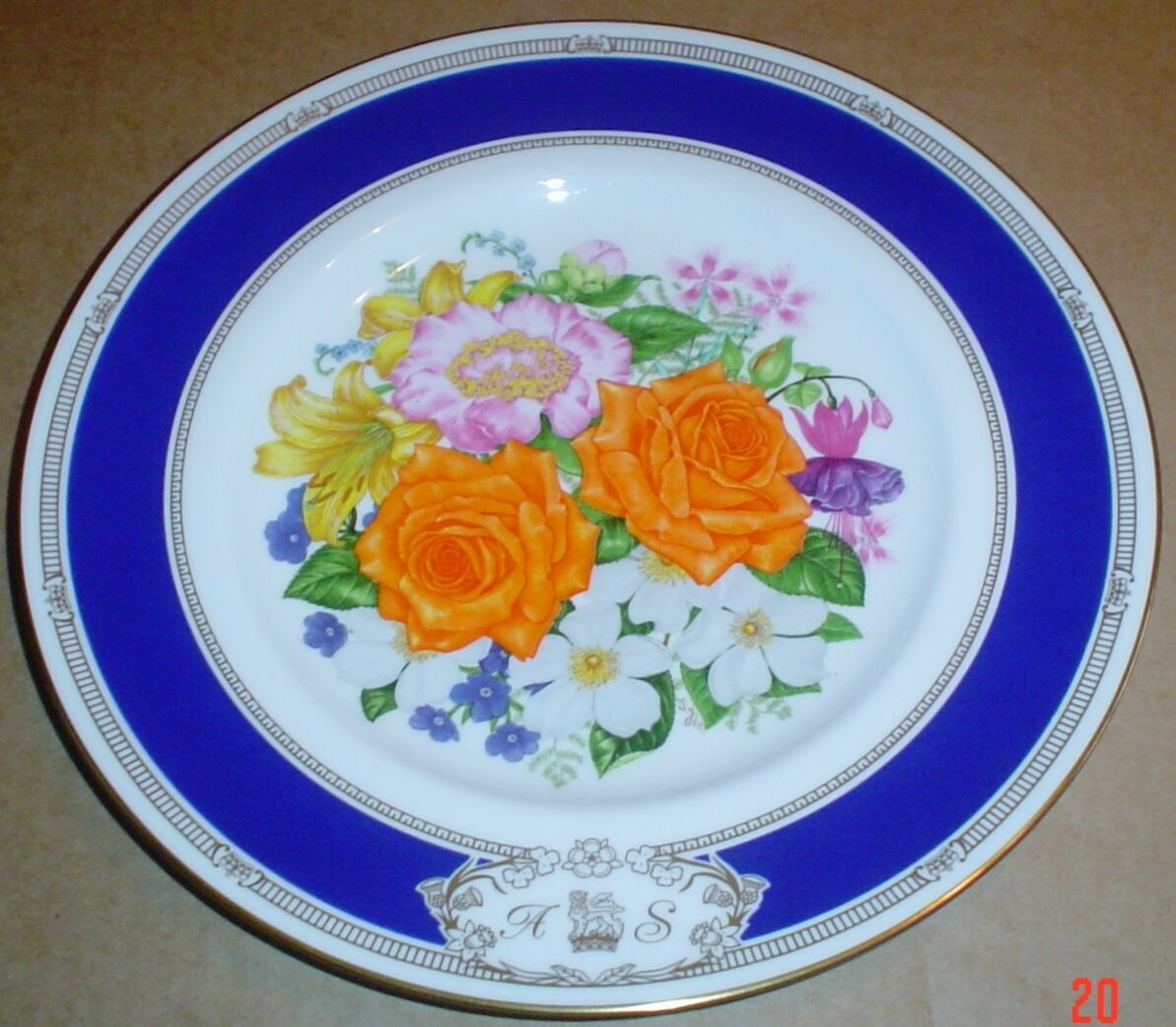 Royal Worcester Collectors Plate ROYAL WEDDING OF SARAH AND ANDREW