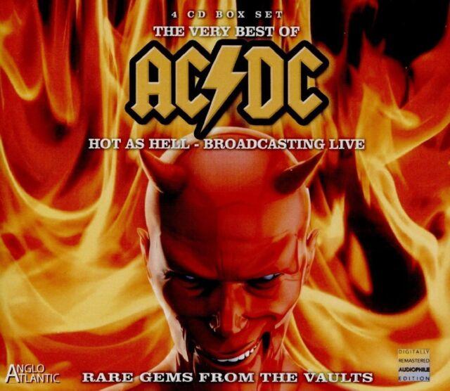 AC/DC - Hot As Hell - Broadcasting Live in the Bon Scott Era [4 CD BOX SET] OVP