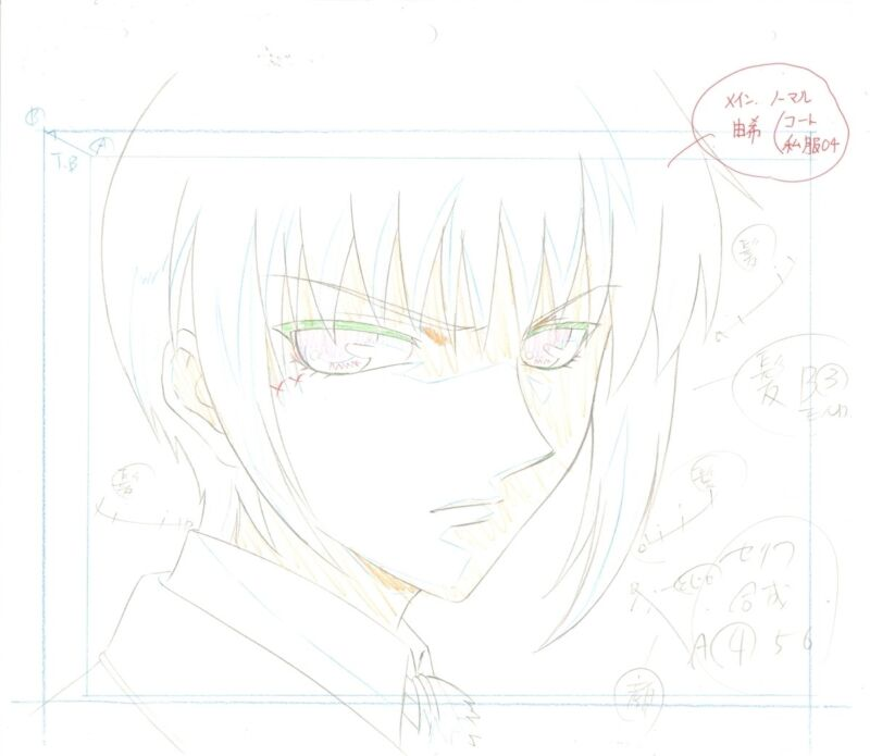 Anime Fruits Basket Layout & Background not cel #3