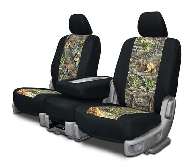 CUSTOM FIT NEO-CAMO FRONT SEAT COVERS for the 2002-2007 Ford F-250 F-350