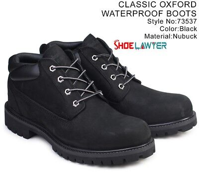 - Timberland Mens Waterproof Classic Work Construction BOOT SHOES OXFORD 73537 USA