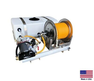 Sprayer Commercial - Skid Mounted - 12v Dc - 3 Gpm - 150 Psi - 50 Gallon Tank