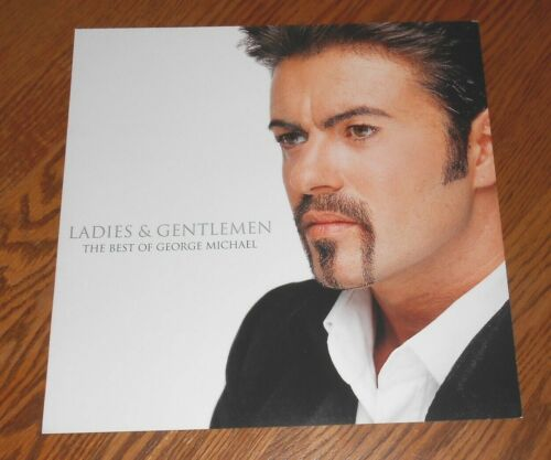 George Michael Ladies & Gentlemen Poster 2-Sided Flat Square 1998 Promo 12x12