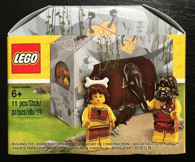 NEW LEGO CAVE w/ CAVEMAN & CAVEWOMAN 5004936 Set Promo Sealed Box minifigures