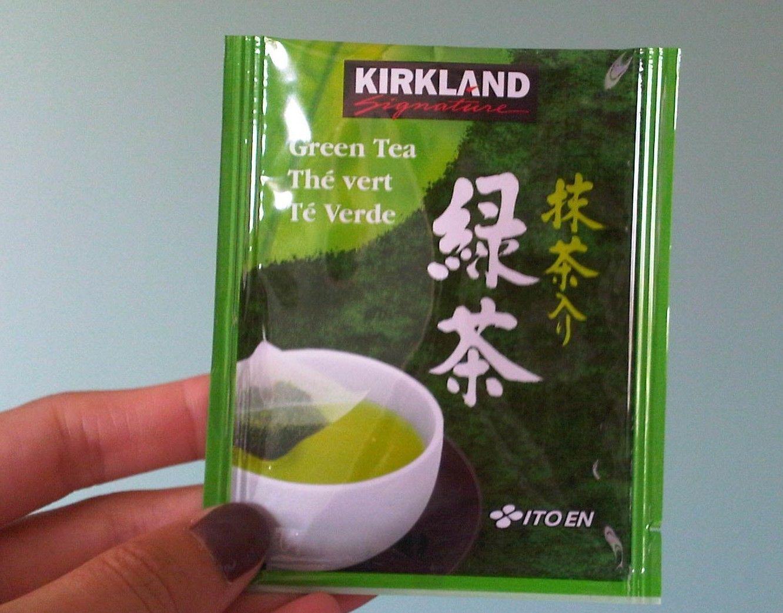25 Kirkland Signature Ito En Matcha Blend Green Tea Bags 100