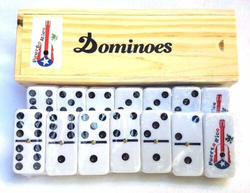 Professional Puerto Rico Flag Double Six Dominos Dominoes Boricua Rican GUITAR
