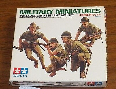 Tamiya WWII Japanese Army Infantry figures model kit 1/35