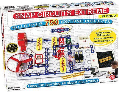 ELENCO Snap Circuits Extreme SC-750 Electronics Kit*****SPECIAL*****