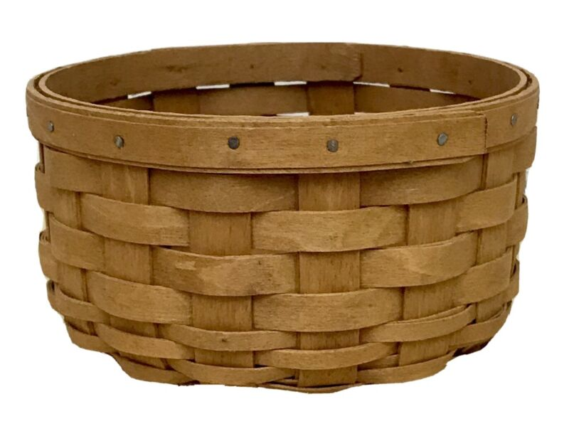 Longaberger Round Coaster Booking Basket 2006