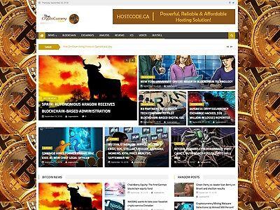 Profitable Wordpress Cryptocurrency News Website Script