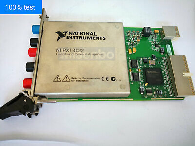 100 Test National Instruments Ni Pxi-4022 Amplifier Module