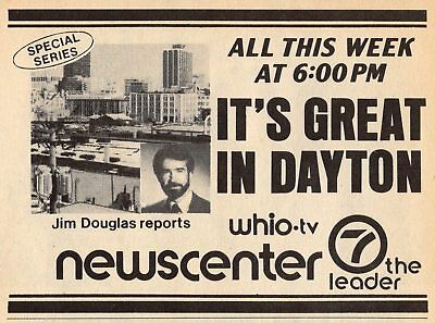 1983  Tv Ad Jim Douglas Reports Whio News Its A Great Day In Dayton Ohio