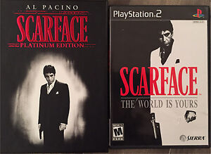 Scarface DVD & PS2 Game