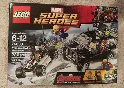 Lego 76030 Marvel Avengers Hydra Showdown NISB   RETIRED SET