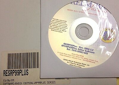 Relm Resrp99 Plus Programming Software Rpv599a Plus Rpu499a Plus Rpv Rpu Plus