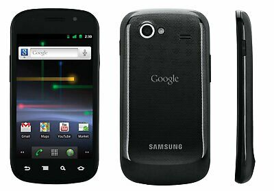 New Samsung Nexus S GT-I9020 16GB Black (Unlocked) Smartphone 5MP 16GB UK Seller