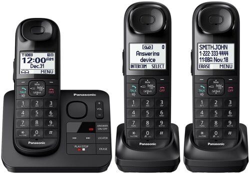 Panasonic KX-TGL433B DECT 6.0 Digital Cordless Phone System w/ Answering Machine