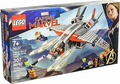 Lego 76127 Captain Marvel Universe and the Skrull Attack Brand New Sealed