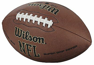 Official Composite Football - NEW Official Size NFL Football Super Grip Wilson Durable Composite Leather