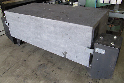 62 X 30 Granite Surface Plate Inspection Table 20thick 30high W Stand