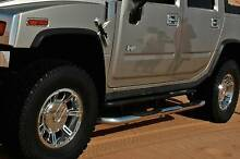 Hummer H2 Side Steps Stainless - 200******2008 2009 Neutral Bay North Sydney Area Preview
