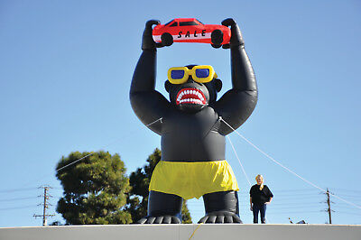 Giant Gorilla Inflatable Kit for Car Lots and Dealerships | 20' Inflatable Huge for sale  Shipping to Canada