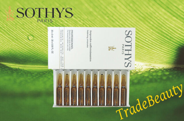 Sothys Refirming Ampoule  2ML x 20 PCS *NEW