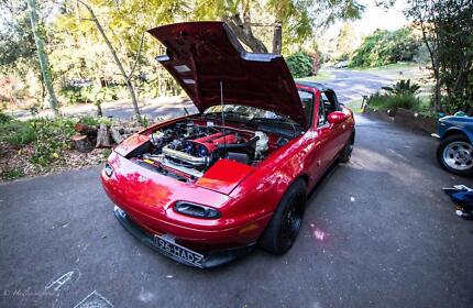 1994 Mazda MX-5 worked Blue Mountains Preview