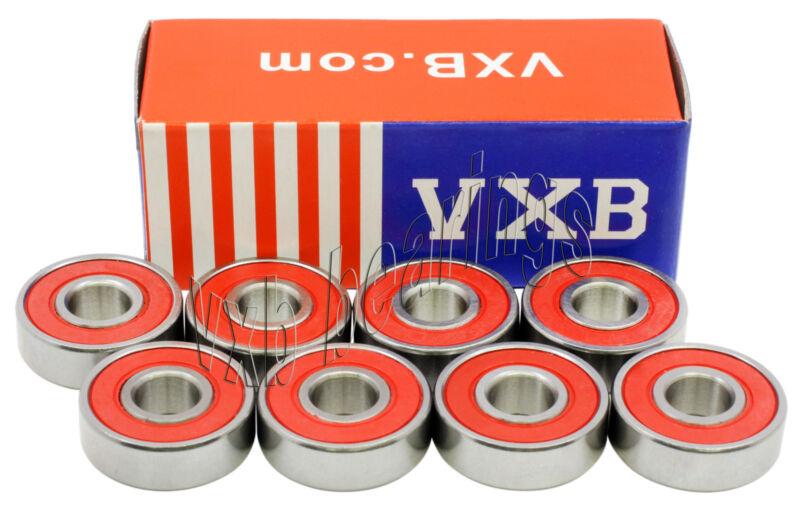 VXB Sealed Skateboard Ball Bearing Set :: FREE SHIPPING