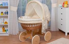 Wicker Basinet, Cradle, Moses Basket, made in Germany Canning Vale Canning Area Preview