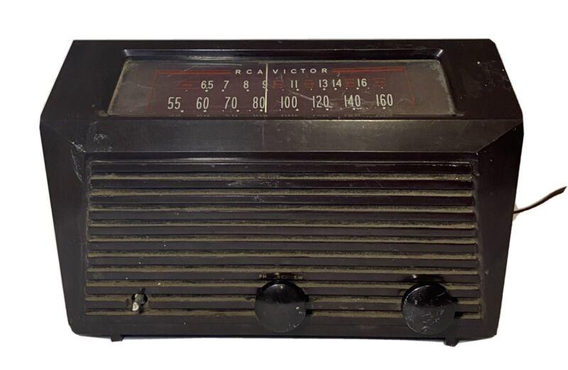 Vintage RCA Victor Model 9-X-651 Tube Radio Superheterodyne