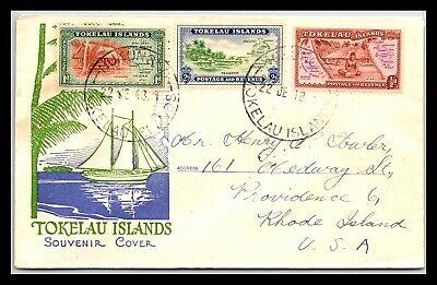 GP GOLDPATH: TOKELAU ISLANDS SOUVENIR COVER 1948 _CV677_P14