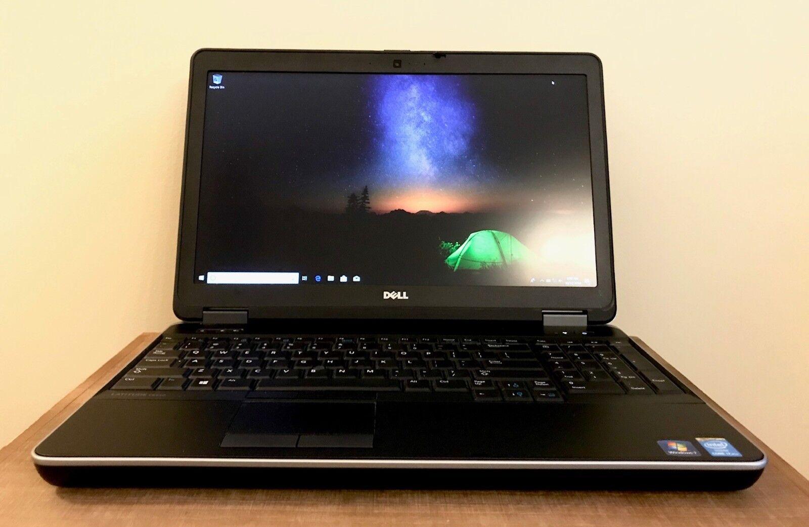 Dell Latitude E6540 Intel Quad-CORE i7-4800MQ 8GB RAM 500 GB DVD WIN 10 PRO