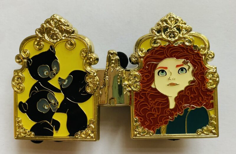 HKDL Hong Kong Disney 2021 Pin Trading Carnival Princess Merida Pin Brave set