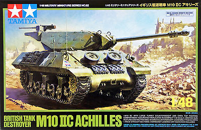 Tamiya 32582 British Tank Destroyer M10 IIC Achilles 1/48 scale kit