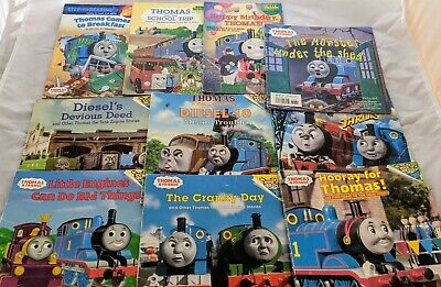 Thomas the Train Tank Engine & Friends LOT 10 Childrens Picture Easy Reader Book