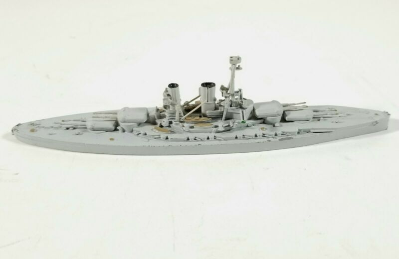SMS Bayern German WWI Battleship Navas 1:1250 Waterline Metal Ship Model EXC