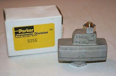 14 Fnpt Pneumatic Flow Control Valve Parker S25g