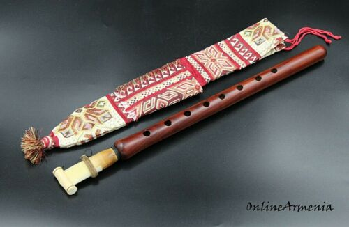 DUDUK ARMENIAN - National CASE - reed NEW Hand made APRICOT WOOD instruction PRO