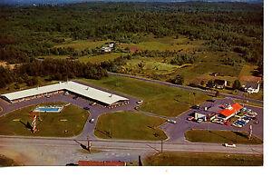 Aerial View Landmark Motor Lodge Motel Glens Falls New